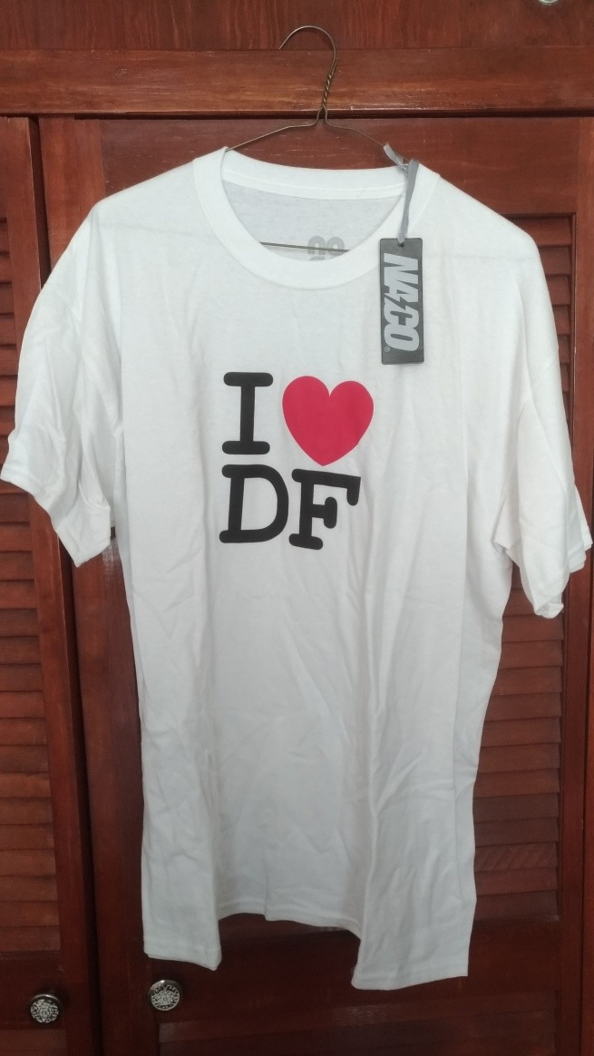 Playera Naco I Love Df Original -   399.00 en Mercado Libre a8b896b183980