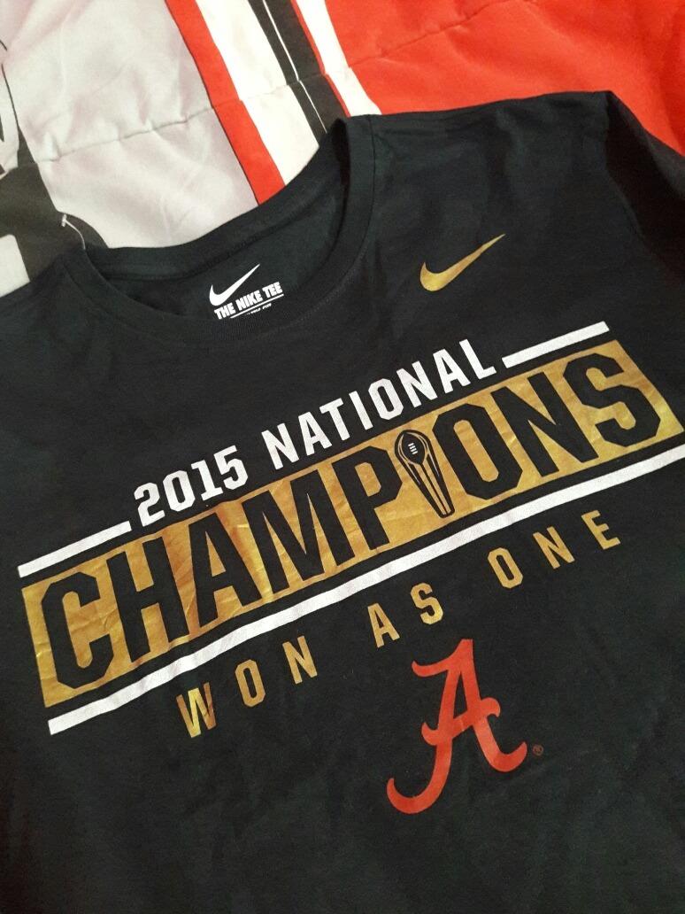 4501229d554 Playera Nike Ncaa Alabama Original Para Hombre -   350.00 en Mercado ...