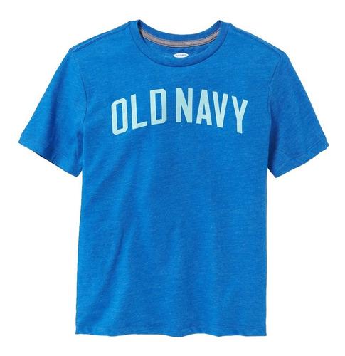 playera niño manga corta estampado logo 410493 old navy