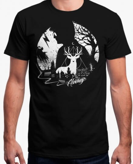 f35d60bce Playera O Camiseta Harry Potter Edicion Especial Always 100 ...