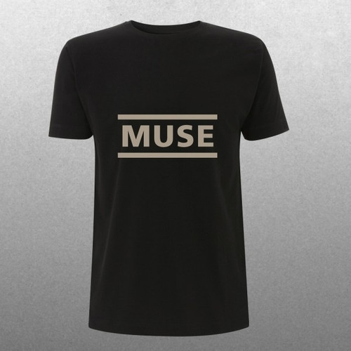 playera oficial muse logo clear 2015