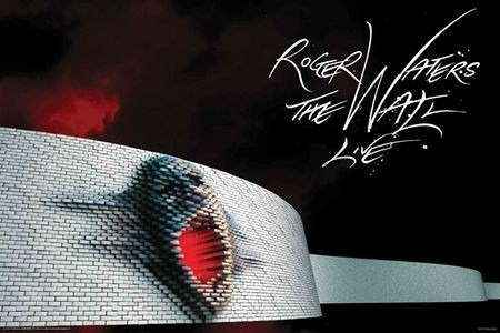 playera oficial roger waters the wall live tour 2010