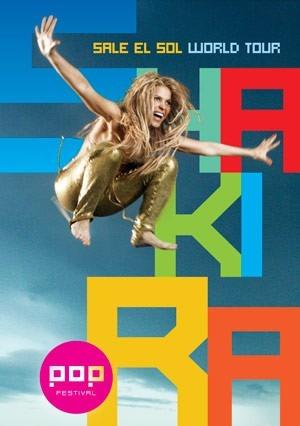 playera oficial shakira sale el sol world tour 2011