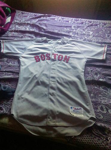 playera original boston redsox'04 firmada por bronson arroyo