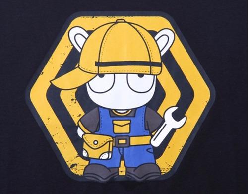 playera original xiaomi para hombre - plumber rabbit