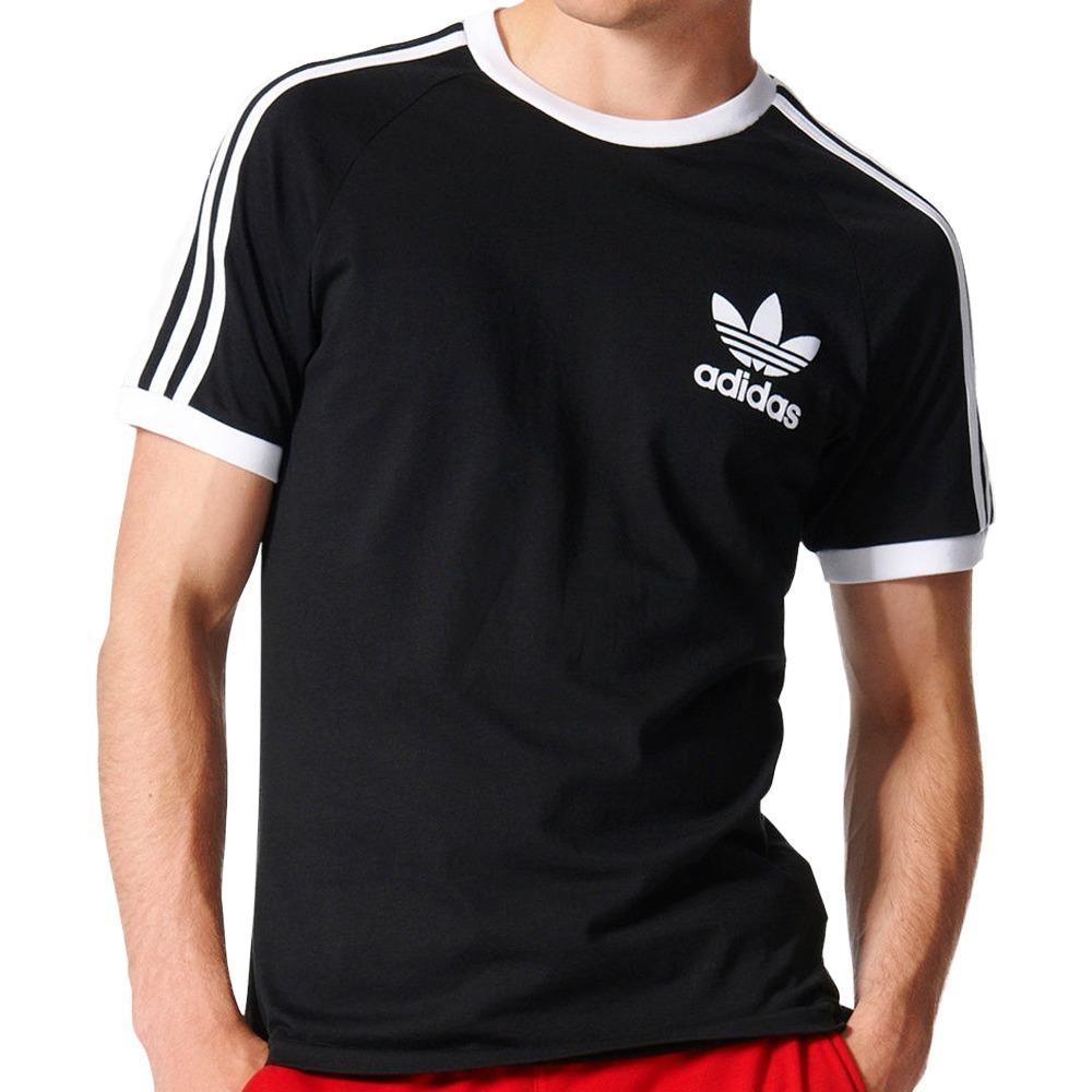 adidas Playera 3 Stripes Negro | adidas Mexico