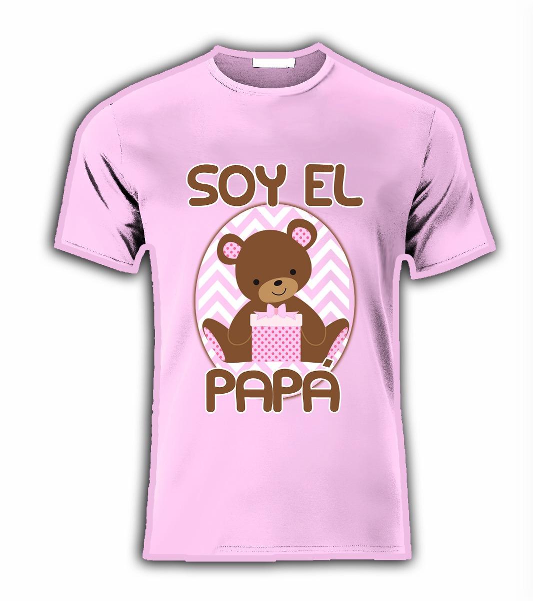 Playera Para Baby Shower Con Nombre Y Tio Tia 391c450082b80