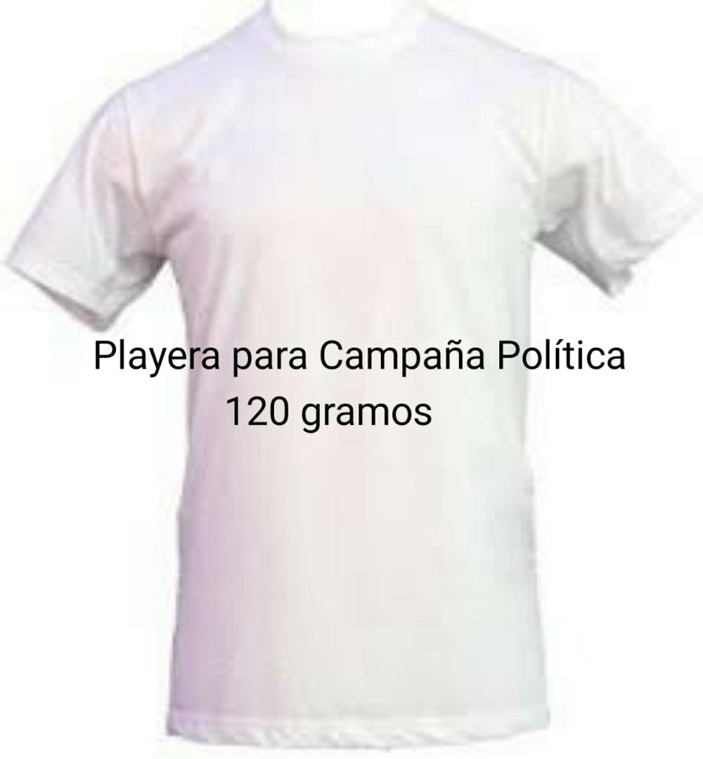 Playera Para Campaña Política -   12.95 en Mercado Libre df23158b1de52