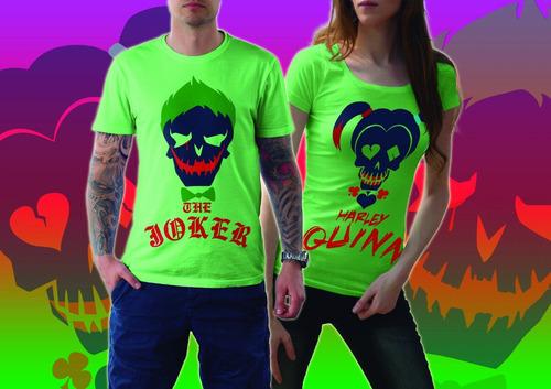 playera parejas joker-harley