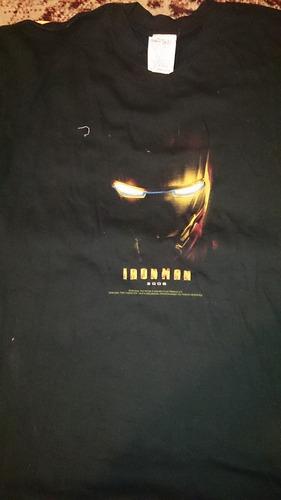 playera pelicula ironman año 2008