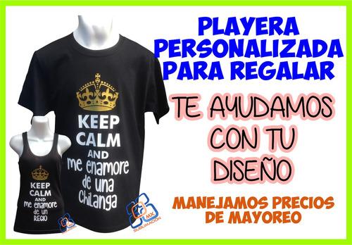 playera personalizada con vinil textil !!diseño gratis!!