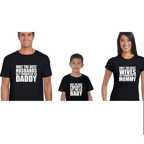 playera  personalizada para familia mom dad mickey y mimmie