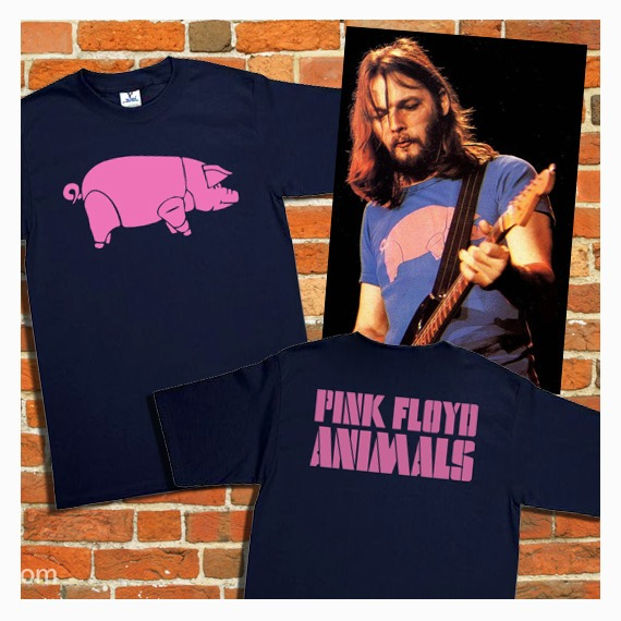 ce42f0e8a721e Playera Pink Floyd Pigs Animals David Gilmour Doble -   180.00 en ...