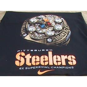 Playera Pitsburgh Steelers Nike Edicion 6 Superbowls