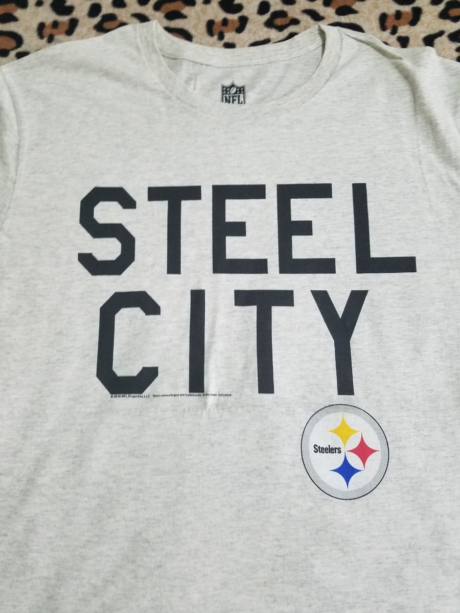 Playera Pittsburgh Steelers Steel City Nfl Oficial Original ... 897ac389a5adc