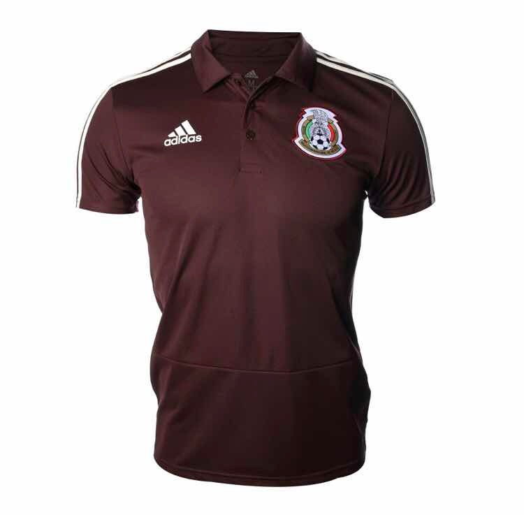 e0d4ca82c4594 Playera Polo adidas México -   400.00 en Mercado Libre