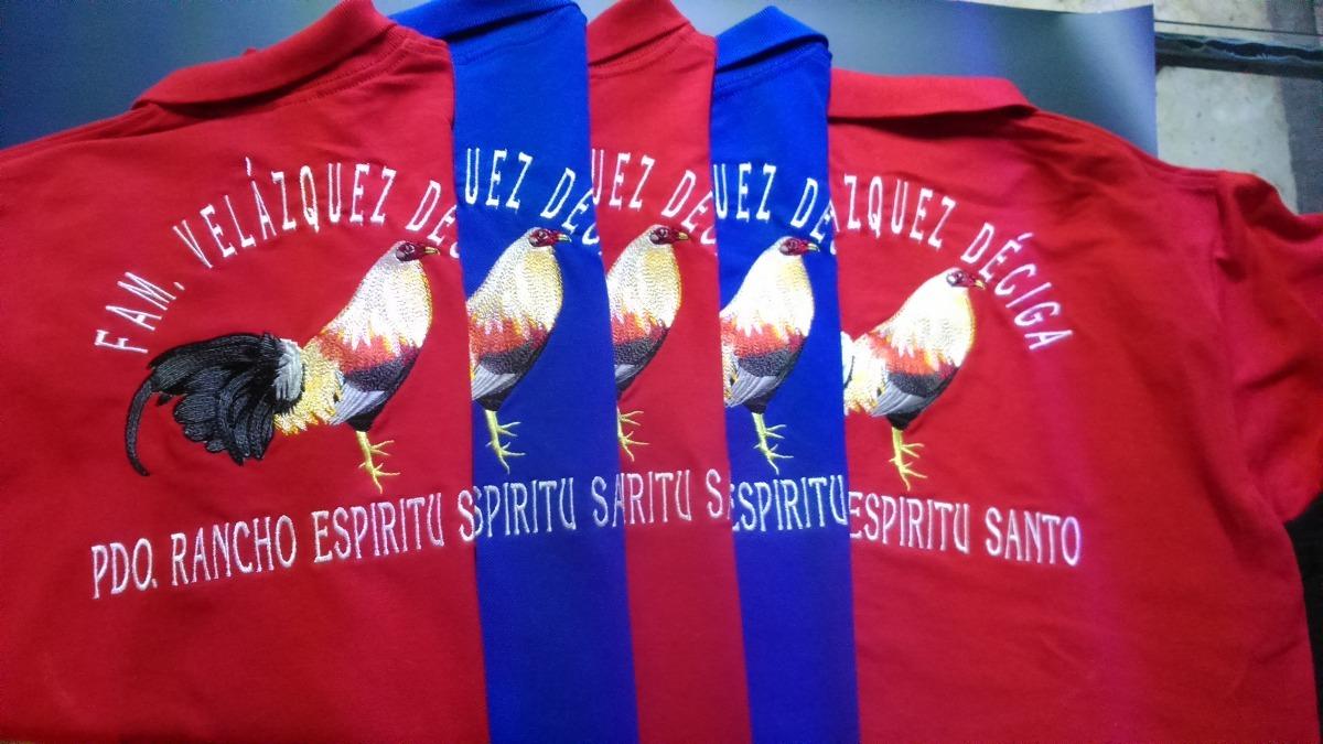 Playera Polo Bordada Con El Logo De Tu Marca 42a209f5be9a1