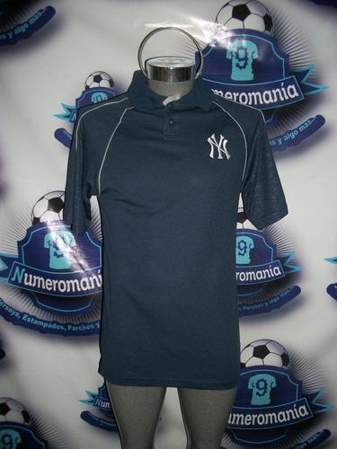 playera polo oficial beisbol mlb yankees york chica