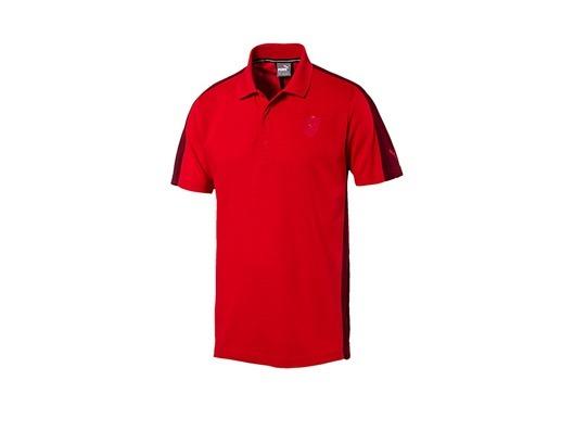 0c6353215b6fe Playera Polo Puma Ferrari Hombre Rojo 572803-02 Look Tendy ...