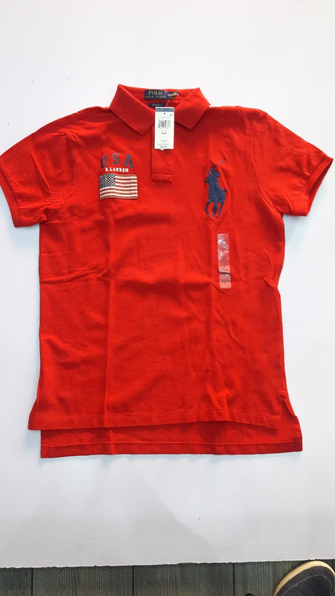 066e52bcf0923 Playera Tipo Polo Ralph Lauren 100% Original Modelo Team ...