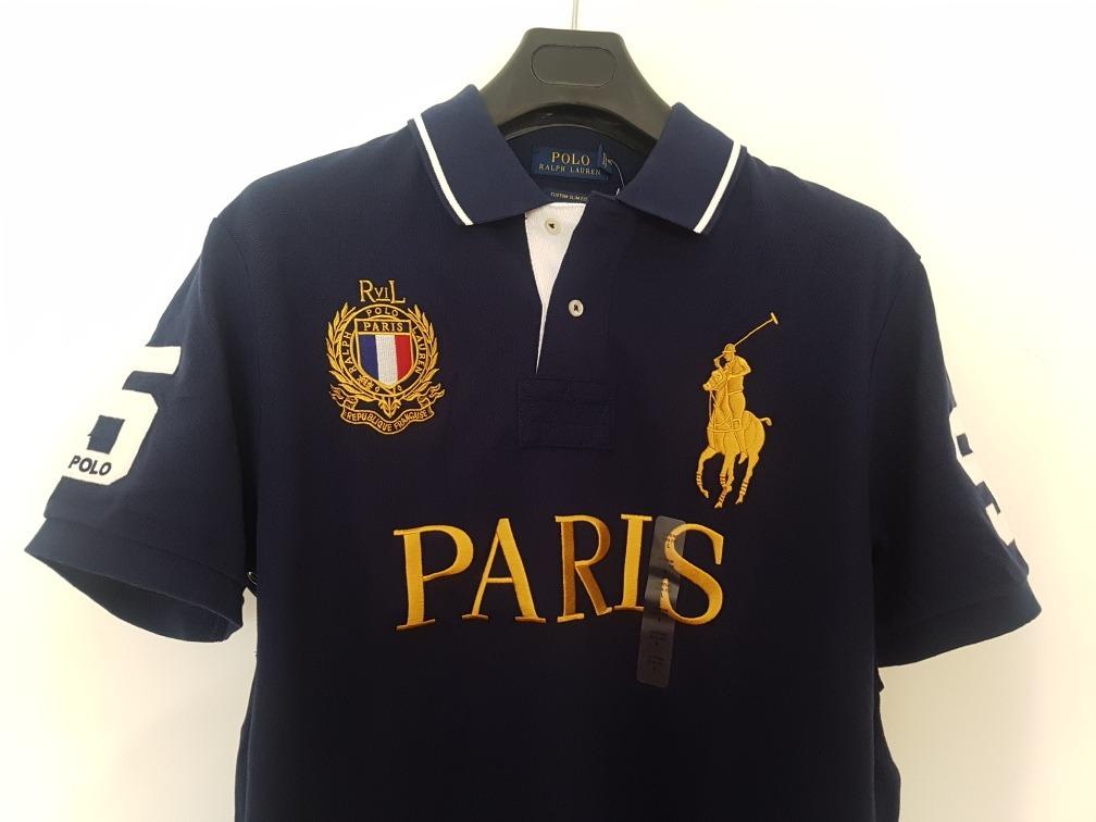 bfb20d07f837f Playera Polo Ralph Lauren City Alusiva A Paris S Y M !! -   1