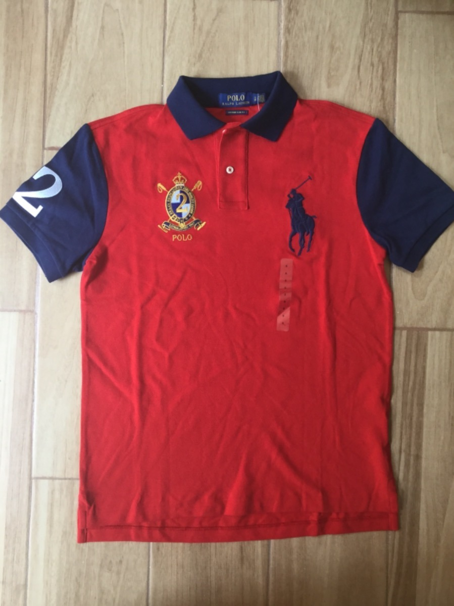 637ae474355ab playera polo ralph lauren custom fit 100% original caballero. Cargando zoom.