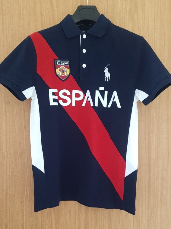 7f0d87b732735 Playera Polo Ralph Lauren España Custom Slim Fit Talla Chica ...