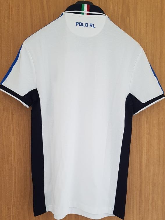 42d941ebf9b1a Playera Polo Ralph Lauren Italia Custom Slim Fit Xxl !! -   1