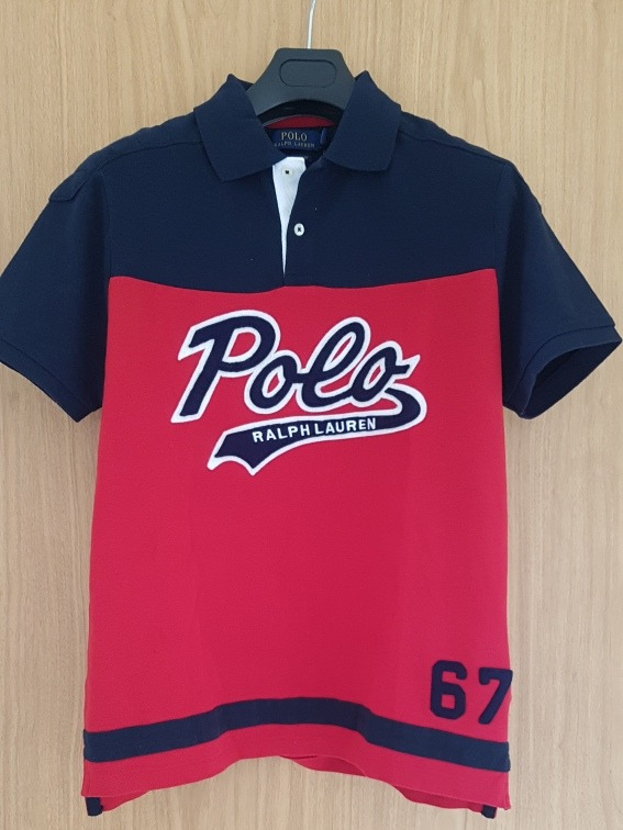 c901294353a97 Playera Polo Ralph Lauren Logo Afelpado Talla M Custom Slim ...