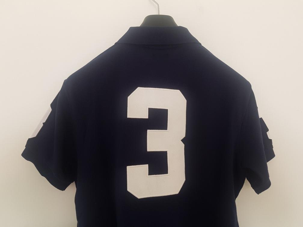 2ee54c91fd022 Playera Polo Ralph Lauren Alusiva A Los Angeles Azul Talla L ...