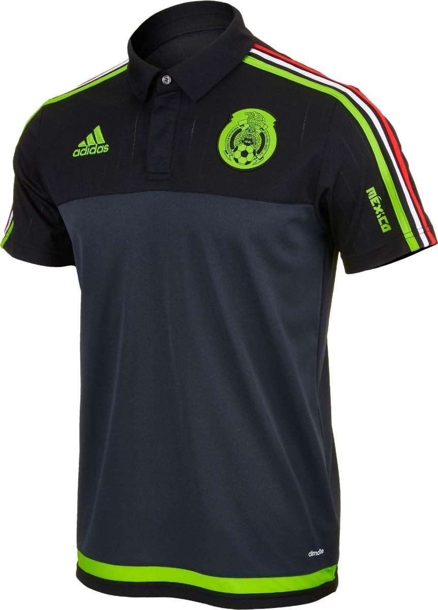5ca6cbc630614 playera polo seleccion mexicana   mexico adidas original. Cargando zoom.