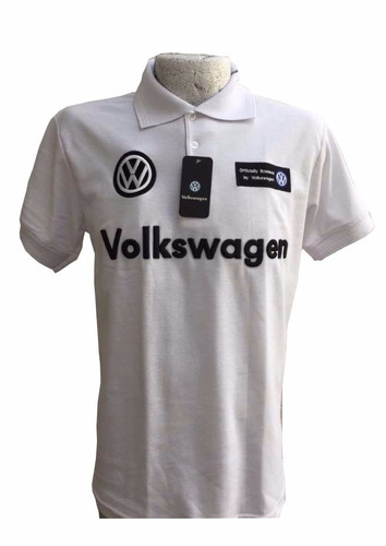 playera polo volkswagen xl blanca