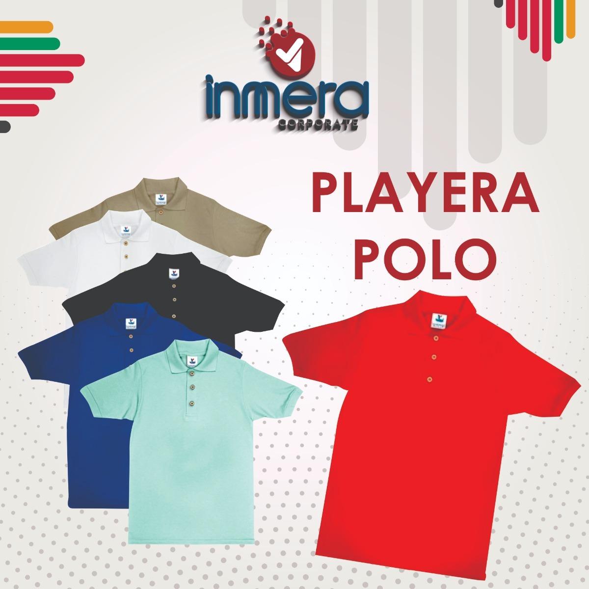 6495eb7b4f96a Playera Polo Yazbek -   95.00 en Mercado Libre