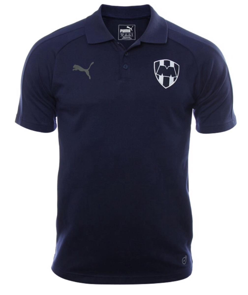 playera puma club monterrey 2017-2018 polo azul. Cargando zoom. 0fadd07b4bf21