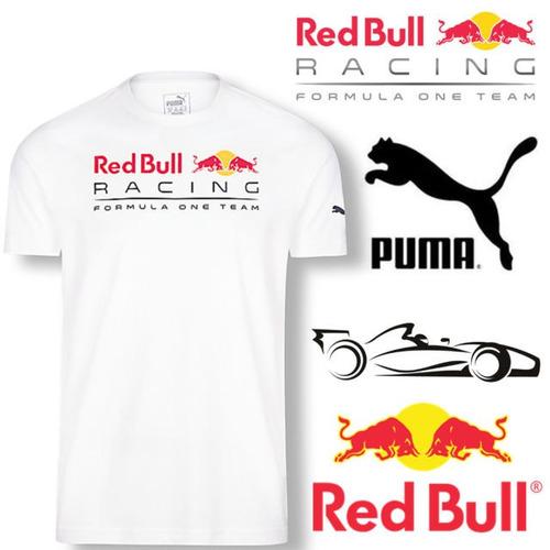 playera puma red bull white racing formula one super precio