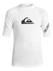 a08647331 Playera Quiksilver Acuatica Surf Blanca All Time Eqbwr03060