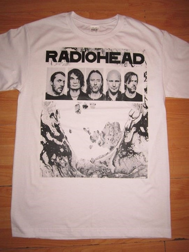 playera radio head, a moon shaped pool