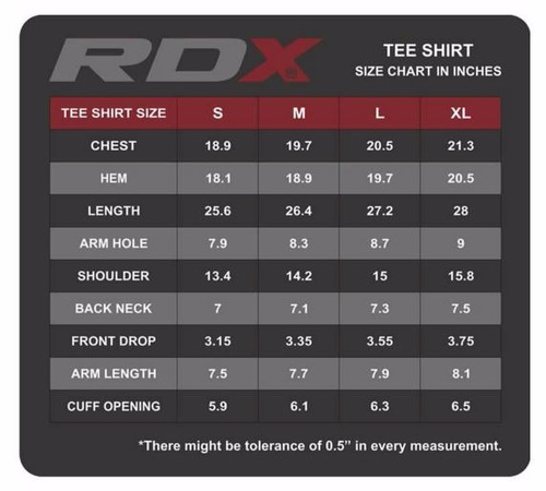 playera rdx dark gray r11 distribuidor oficial