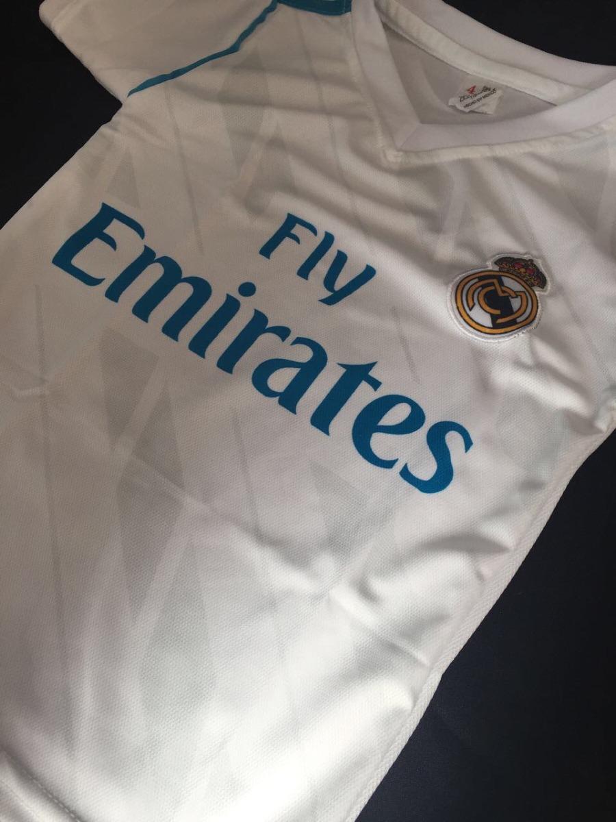 e22327ca7419b Playera Real Madrid 2017 2018 Local Niño Talla 4