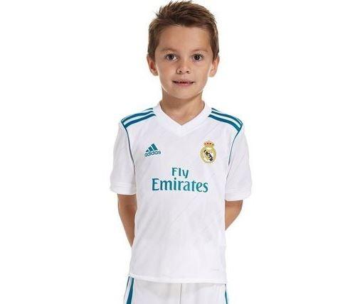 8e93e3b47ee48 Playera Real Madrid adidas Niño Original 17-18 Nuevas -   1