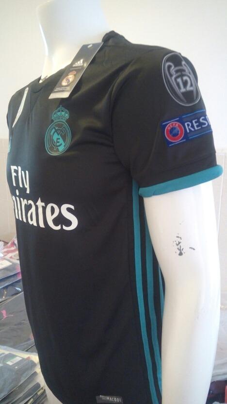 Playera Real Madrid Negra -   399.00 en Mercado Libre 192c559ea75d3