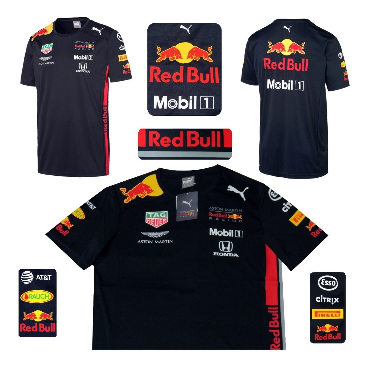 szerokie odmiany świetne dopasowanie sprzedawca hurtowy Playera Red Bull Puma F1 Vestappen Gasly Original Linea 2019
