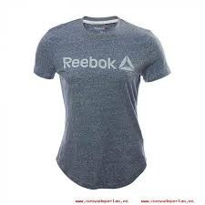 playera reebok dama- elements snow melange