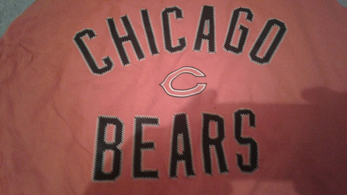 playera reebok nfl osos d chicago talla grande