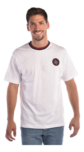 playera regular fit u.s. polo multicolor usltm447574  hombre