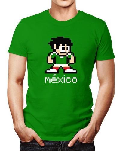playera retro méxico mexico 68 apoya selección mexicana