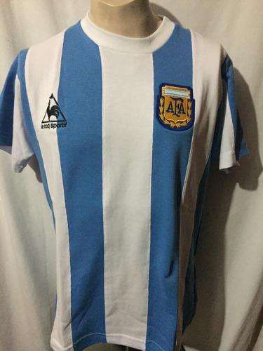 playera retro seleccion argentina 1986 epoca maradona