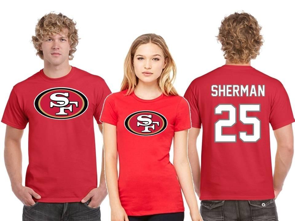 nice shoes 5a995 23e23 Playera Richard Sherman Jersey San Francisco 49ers Nfl