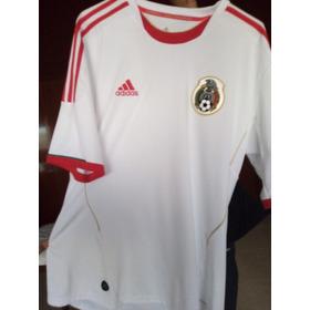 Playera Selección Mexicana adidas Blanca