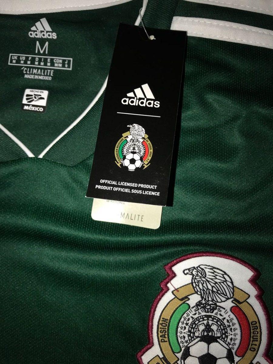 Playera Selección Mexicana Mundial Rusia 2018 Original!! -   960.00 ... 4bffddcbda8a2
